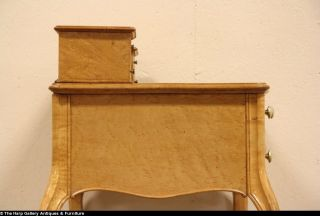 Birdseye Curly Maple 1910 Dressing Table Vanity or Writing Desk