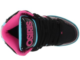 Osiris Kids NYC 83 Slim (Little Kid/Big Kid) Black/Pink/Blue