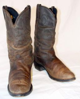 Durango RD542 Distressed Brown Leather Western Cowboy Cowgirl Boots 8 M