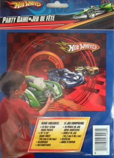 New Hot Wheels Party Game Stick The Engine on The Car Race Car Birthday Idea