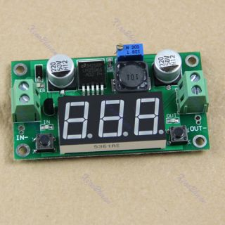LM2596 DC DC Voltage Regulator LED Voltmeter Buck Step Down Converter Module