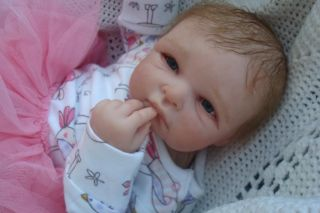 Reborn Doll Nadine Lovely Sculpt by Nel de Man Very Hard to Find