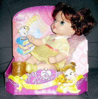 Disney Princess Sparkle Belle Baby Doll
