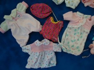 Lauer Toys Water Babies Baby Doll Clothes Lot 9 In