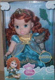 New My First Disney Princess Deluxe Baby Merida Doll Brave Movie