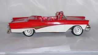 1958 Ford Fairlane 500 Convertible Promo Model Car by AMT