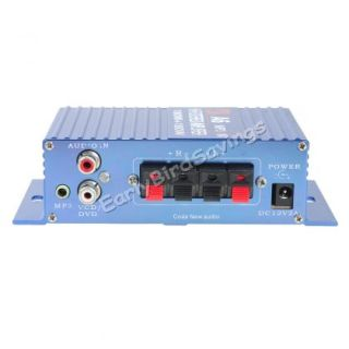 180W 180W 2CH 12V Small Stereo High Power Amplifier for CD  Car Audio Home