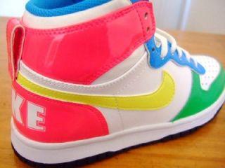 Original Girls Big Nike High Trainers High Tops UK Size 4 5 5 1 0 6