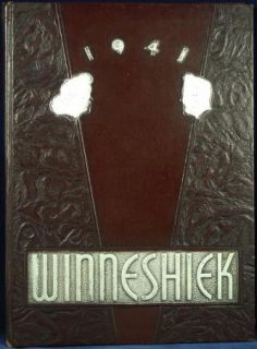 1941 Logan High School Yearbook La Crosse Wi Wisconsin Winneshiek Vintage