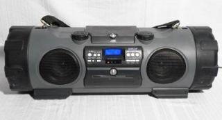 JVC RV NB1 Kaboom Ghetto Blaster Boombox CD Cassette Player Radio Powered Woofer
