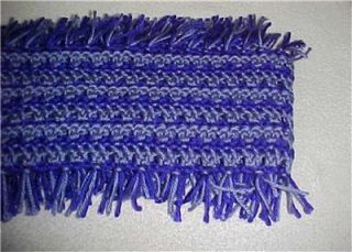 Hand Crochet Infinity Circle Scarf Neckwarmer 145 Purple Lavender New