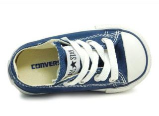 Converse Shoes Chuck Taylor Infant Boys All Star 7J237 Navy White Ox Low Top