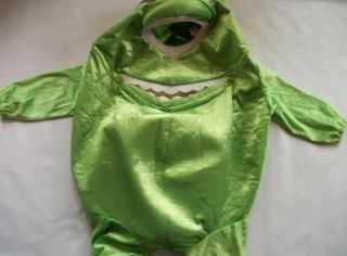 Monsters Inc Mike Wazowski Halloween Costume Disney Store 2 4 T Child