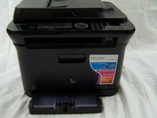 Samsung CLX 3175FN Color Laser Printer MFP All in One as Is