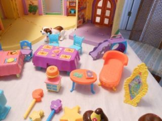 Dora The Explorer Talking Playhouse Dollhouse with 40 Accessories