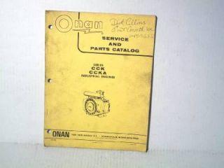 Onan CCK Engine