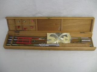 Vintage Kyoto Ya Split Bamboo Fishing Pole Kit Japan