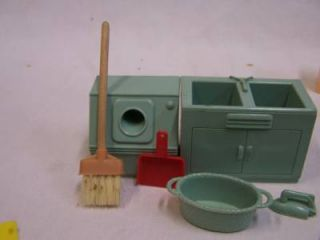 Plastic Canvas Doll House Furniture
