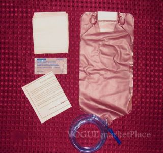 Disposable Travel Colon Enema Bag Kit 1500 SEALED
