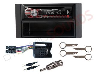 Ford s Max 2006 Fitting Kit with Pioneer DEH 1500UB Car CD  USB Aux Stereo