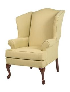 Erin Yellow Wing Back Chair ID 183871
