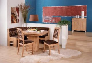 Iktus Bern Dining Set Kitchen Booth Breakfast Nook Corner Bench