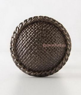 Anthropologie Latticework Bronze Weave Double Sided Doorknob Door Knob Handles