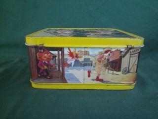 1982 Ronald McDonald Birdie Sheriff Canyon Vintage School Lunchbox Metal