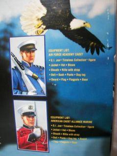"12"" Gi Joe U s Air Force Academy Cadet American Cadet Marine FAO Hasbro"