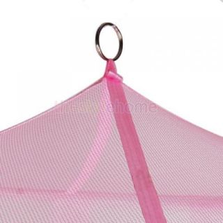 10x Princess Girls Baby Pink Bed Crib Tent Canopy Mosquito Net