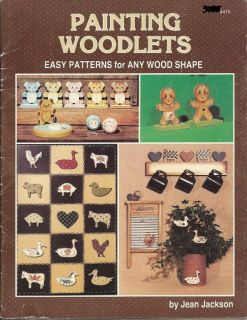 Tole Painting Pattern Book Painting Woodlets Jackson
