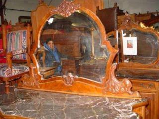 Italian Antique Marbe Top Dresser IT021B BLOWOUT Sale