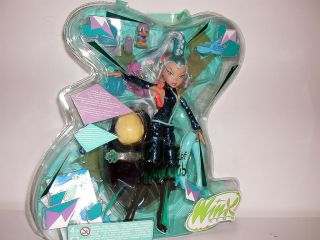 Winx Club Icy Witch Doll Very RARE with Light Up Wings Accessories BNIB