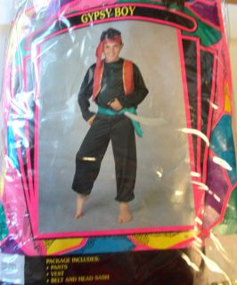 Gypsy Boy Sultan Genie Costume Teen OSFM NIP