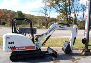 2006 Bobcat 334 Mini Excavator EXC Condition Kubota Diesel Low Hours