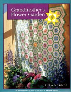 Quilt Pattern Book Grandmother's Flower Garden