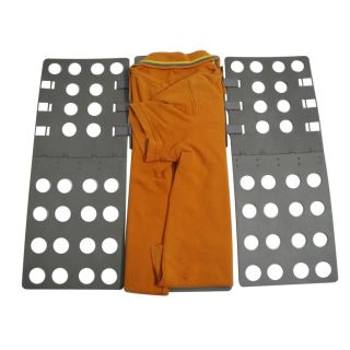 Adult Deluxe Dress T Shirt Clothes Flip Fold Folder Board Laundry Organizer