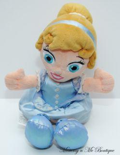 Disney Babies Princess Cinderella Rag Plush Doll Toy