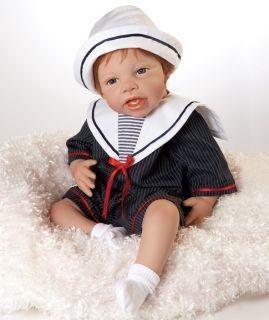 Baby Luke Collectible Real Lifelike Baby Boy Doll