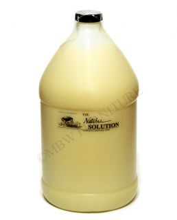 The Natchez Solution Complete Furniture Care Beeswax w Lemon Oil 1 Gallon