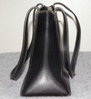 Authentic Kate Spade Black Leather Shoulder Purse Handbag