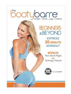 Tracey Mallett The Booty Barre Beginners and Beyond DVD New Ballet Barre Style