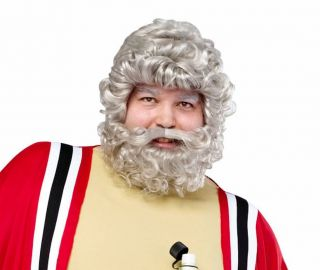 Moses Noah God Arab Blibical Wig and Beard Set Fancy Dress Costume Party Wig
