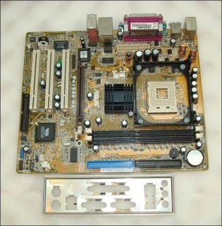 Asus P4V533 MX Rev 1 03 Socket 478 Motherboard