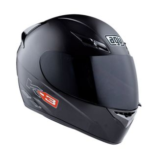 Agv K3 Full Face Race Touring City Motorcycle Helmet Gloss Mono Black