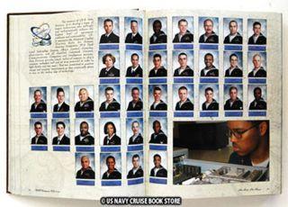 USS Enterprise CVN 65 Mediterranean Cruise Book 2003 2004