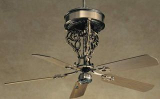 "Casablanca New Orleans Centennial 54"" Ceiling Fan Model 6944D in Antique Bras…"