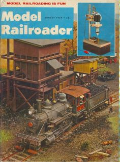 1969 Model Railroader Magazine Ben King Drill Press