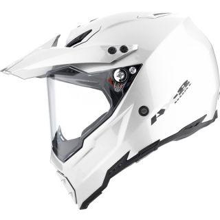 Agv AX 8 AX8 Dual Sport Helmet Titanium Grey XLarge XL