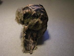 Realtree Camo Trapper Hat BNWT Fishing Hunting Bird Watching Camouflage